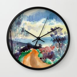 Forest 3 Wall Clock