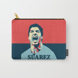Luis Suarez, number one Uruguayan player. Carry-All Pouch