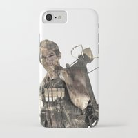 daryl iPhone & iPod Cases featuring Daryl TWD by Yousef