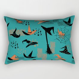 Halloween Witch Hats Rectangular Pillow
