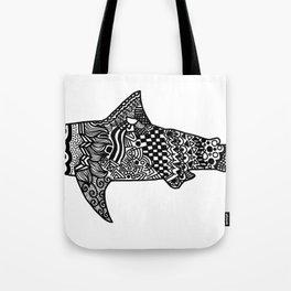 Doodle Shark Tote Bag