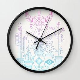 Santa Fe Garden – Rose Quartz & Serenity Wall Clock