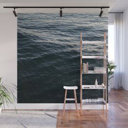 Deep Blue Wall Mural