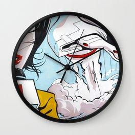 Leaving Earth Wall Clock