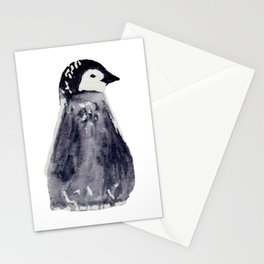 baby pinguin - bebe manchot - nord - north - banquise - arctique Stationery Cards