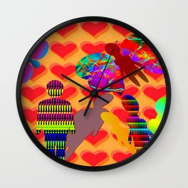 Answer meets questions ... Wall Clock