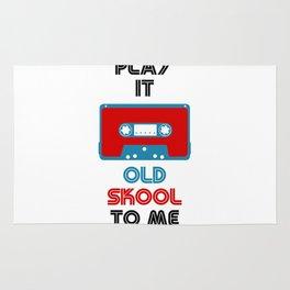 Play It Old Skool To Me Rug