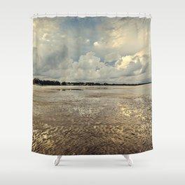 Golden Days of Summer Shower Curtain