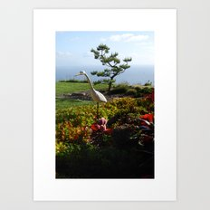 Master of the Garden  Art Print
