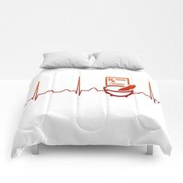 PHARMACIST HEARTBEAT Comforters