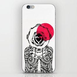 Yakuza Diver from Japan iPhone Skin