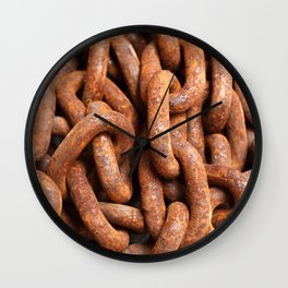 We are made of meat Wall Clock