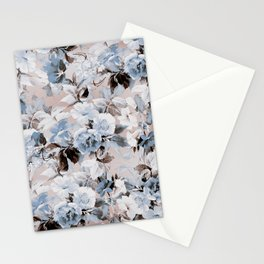 FLORAL PATTERN 10 Stationery Cards