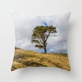 Highland Tree Throw Pillow