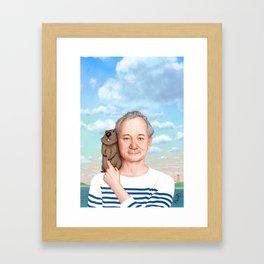 Bill Murray - Jason Raish Framed Art Print