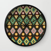 geo Wall Clocks featuring Geo by Sproot