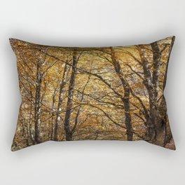Forest in Autumn time Rectangular Pillow