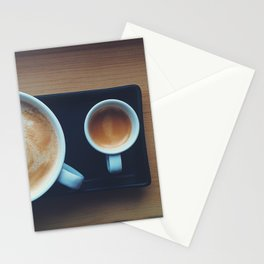 Big And Baby Coffee Stationery Cards