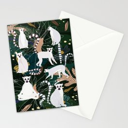 Lemur Jungle Stationery Cards