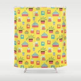 Bright Kitchen Shower Curtain
