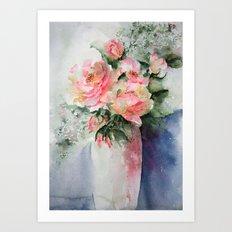 French Roses Art Print