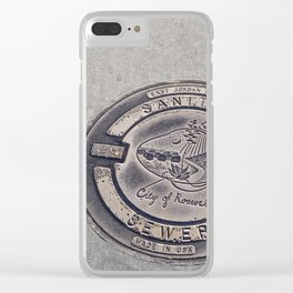 Alien Iron Works Clear iPhone Case