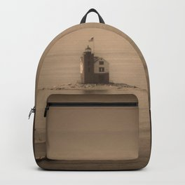 A Lighthouse & Beacon Backpack