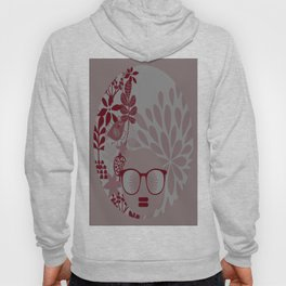 Afro Diva : Burgundy Sophisticated Lady  Hoody