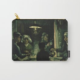 The Potato Eaters by Vincent van Gogh Carry-All Pouch