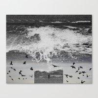 waterfall Canvas Prints featuring WaterFall by Sergio Varanitsa