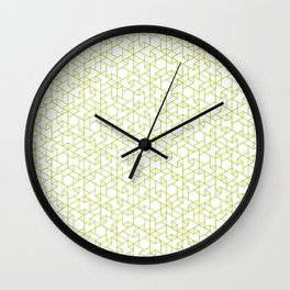 Jali Fusion - Green Wall Clock