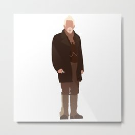 The War Doctor: John Hurt Metal Print