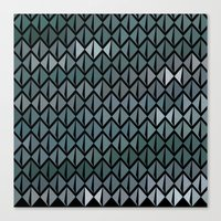 scales Canvas Prints featuring Scales by Xaphedo