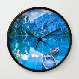 Let the Adventures Begin Wall Clock