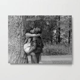 Tree Huggers Metal Print