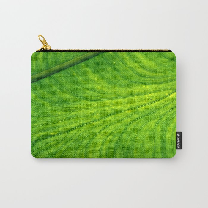 Leaf Paths Carry-All Pouch