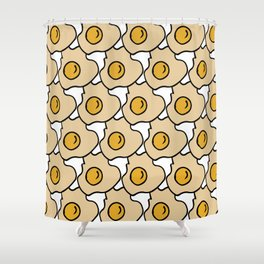 Fry Egg #homedecor Shower Curtain