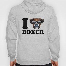 I Love Boxer modern v1 Hoody