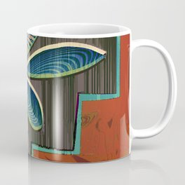 I Think More is More #Plant #Glitch-Art Coffee Mug