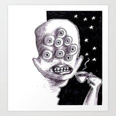 It's a starry coffeenight Art Print