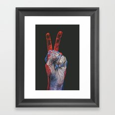 victory! Framed Art Print