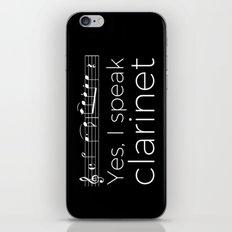 Yes, I speak clarinet iPhone & iPod Skin