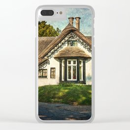A  Thatched Cottage At Sulham Clear iPhone Case