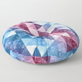 Abstract Geometric Background #8 Floor Pillow