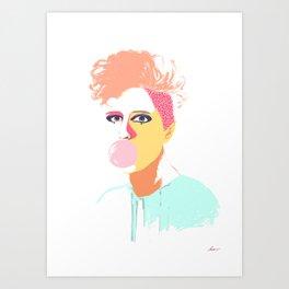 Gum Art Print