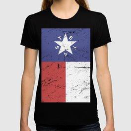 Retro Style Texas Flag T-shirt