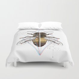 BeeSteam Duvet Cover