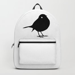 Bird Black Silhouette Animal Pet Cool Style Backpack