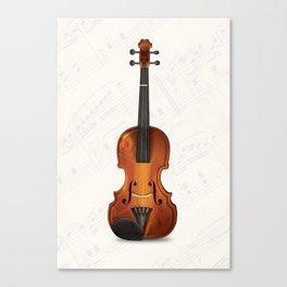 Violin Canvas Print