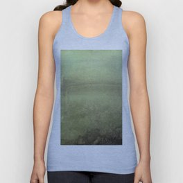 Nocturne Silver And Opal By James Mcneill Whistler | Reproduction Unisex Tank Top